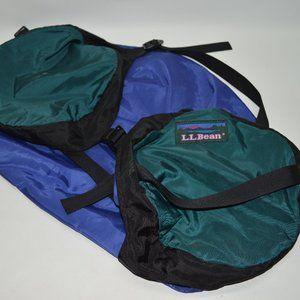 LL Bean Vintage LLB #L695 Large Duffel Like Bag